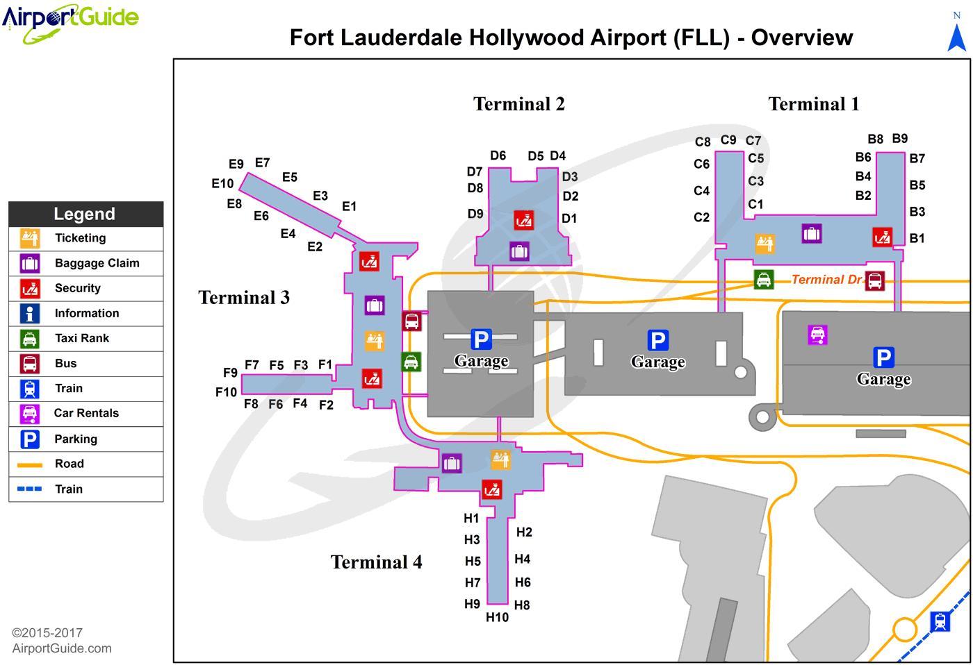 Fort Lauderdale Airport Parking Garage Dandk Organizer