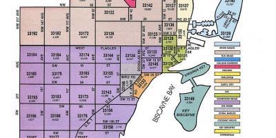Miami Fl Zip Code Map Miami map   Maps Miami (Florida   USA)
